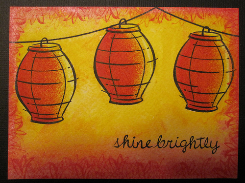 Shine Brightly Card