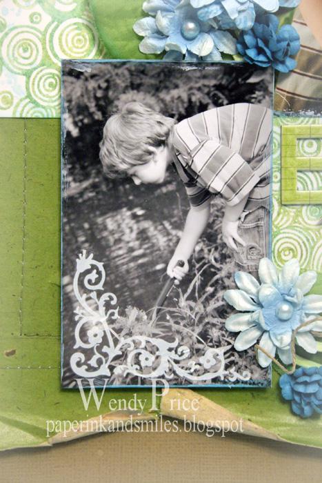 Painted photo edges