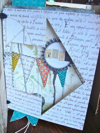Handmade Journal One Little Word Faber Castell Design Memory Craft