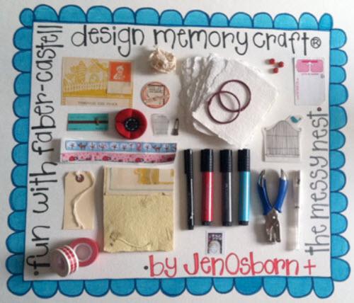 Watercolor Art Journal Guest Design Team Faber Castell Design