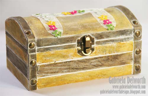 JEWELRY BOX by Gabriela Delworth