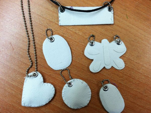 Blank pendants