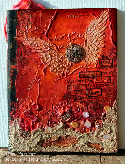Book Cover Page Making : Textiles making art journal covers faber castell