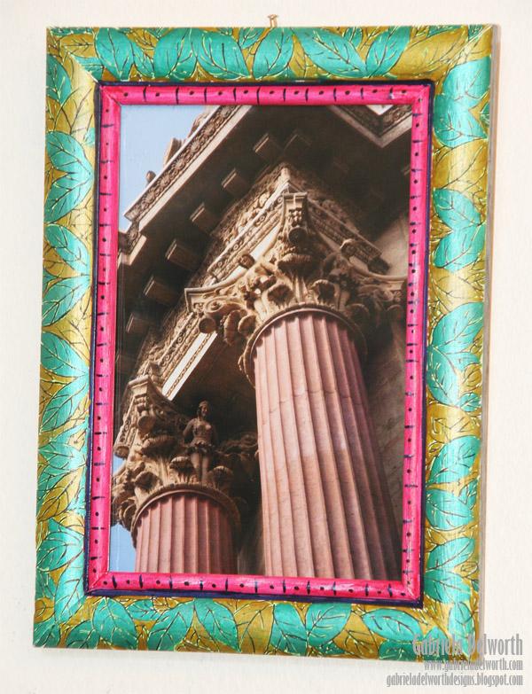 Decorated Frame - Faber-Castell Design Memory Craft