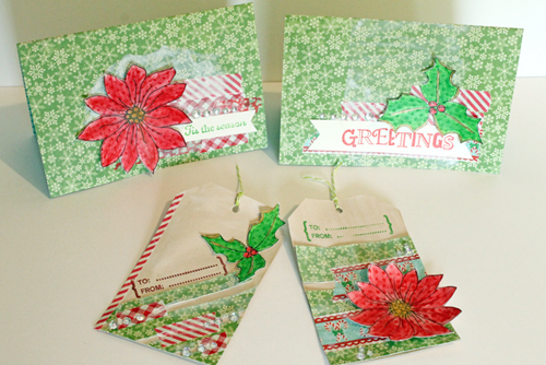 Christmas In July Gift Tags.Christmas In July Card And Gift Tag Set Faber Castell