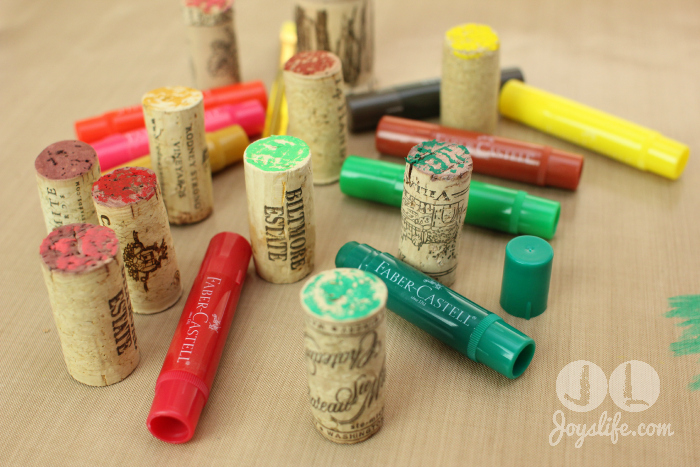 Cork tree color corks w