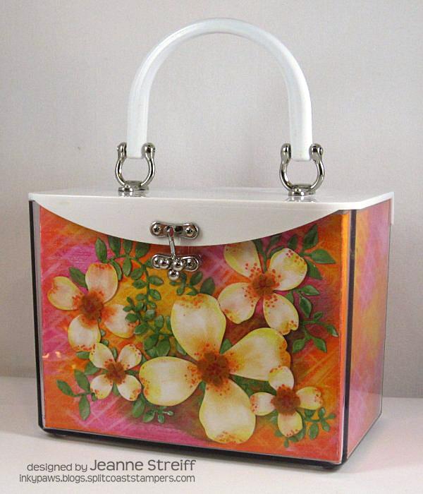 Spring Flower Handbag Jeanne_Streiff