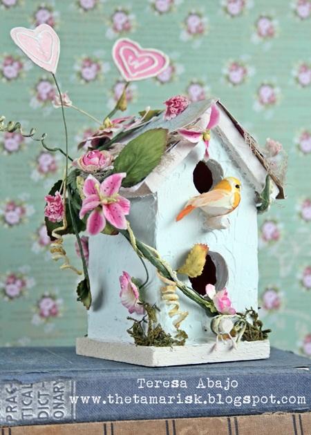 Teresa - altered birdhouse
