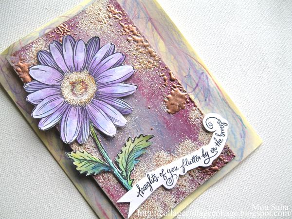 Stampendous Blog Hop Mou Faber Castell Design Memory Craft