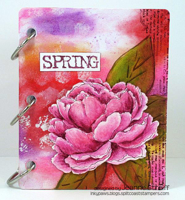 Mini Art Journal Jeanne_Streiff