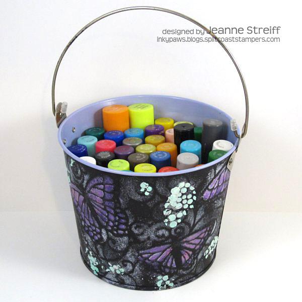 Tool Bucket with Gelatos Jeanne_Streiff