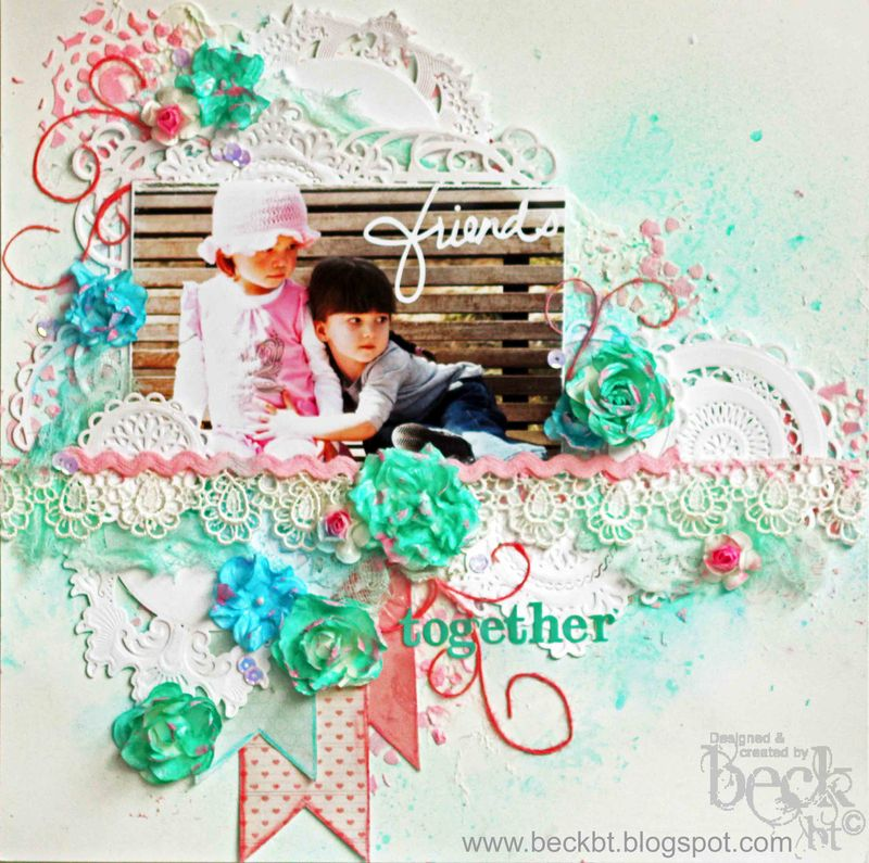 Friends together layout