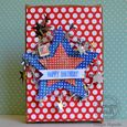Fourth of July Wall Hanging Decor with Textural Accents