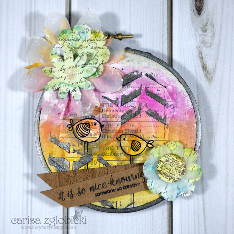 Faber_Castell_Design_Memory_Craft_Mixed_Media_JustRite_Stamps_Hoop_Art