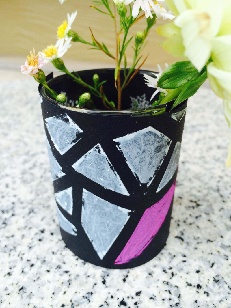 Graphic Bud Vases 3