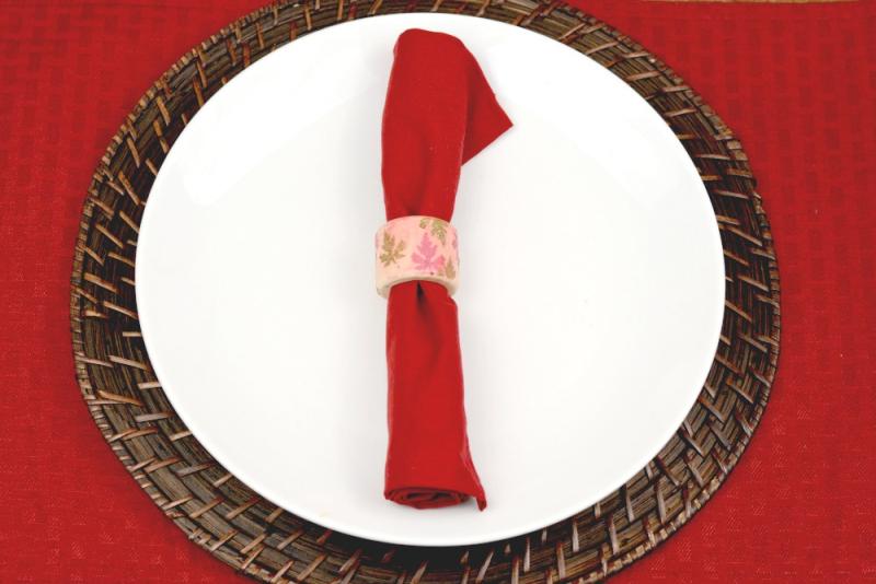 Autumn Napkin Rings - Iced Chai 6