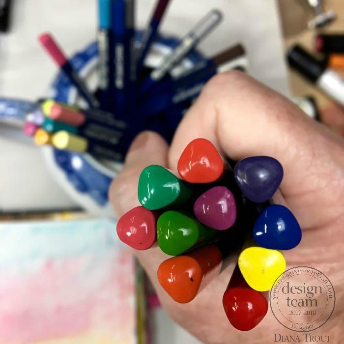 Pencils in Hand