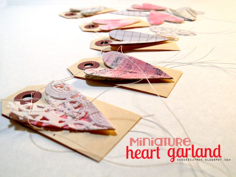 DeeDee catron - Mini heart garland2