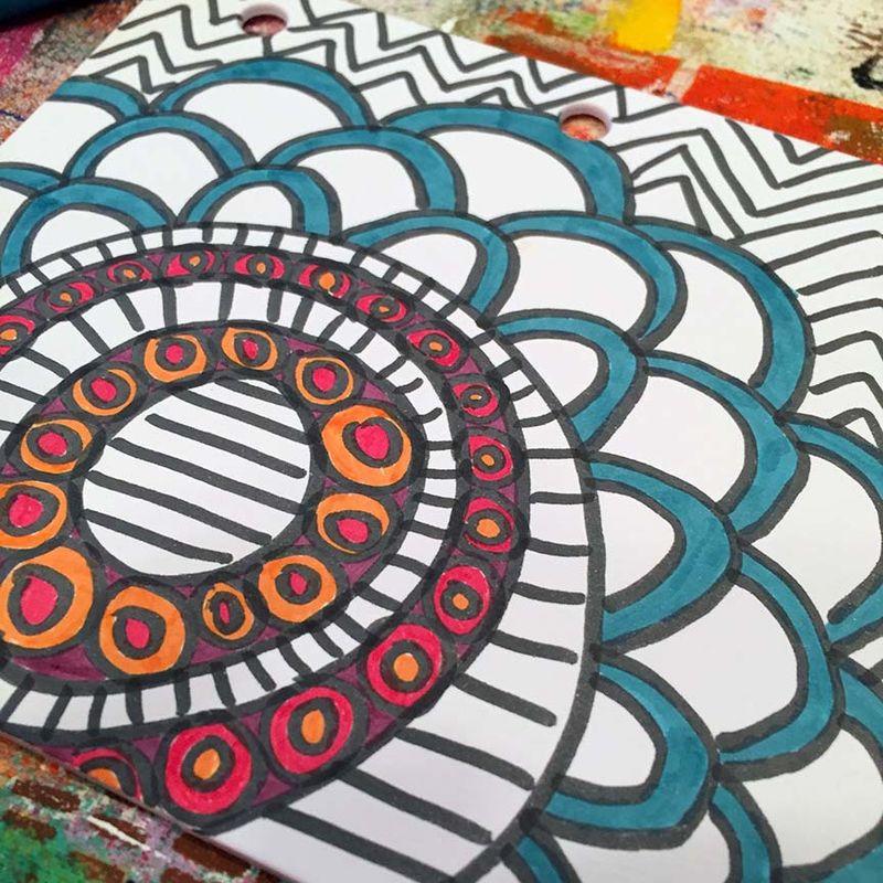 5 - Lynn K DIY coloring book coloring 2