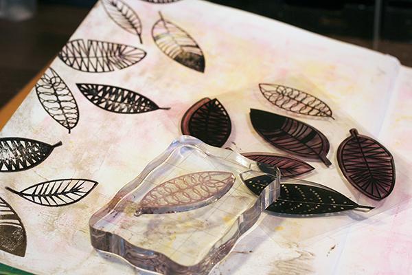 Maya Isaksson art journal faber castell design memory craft600