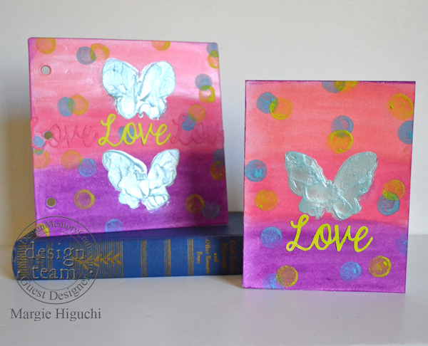 MargieHiguchi 600WM B&NKit LoveCardandArtJournal