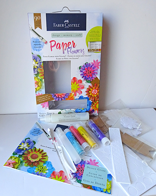 Hi Mom Mini Gift Bag using Paper Flowers Kit - Faber-Castell Design ...