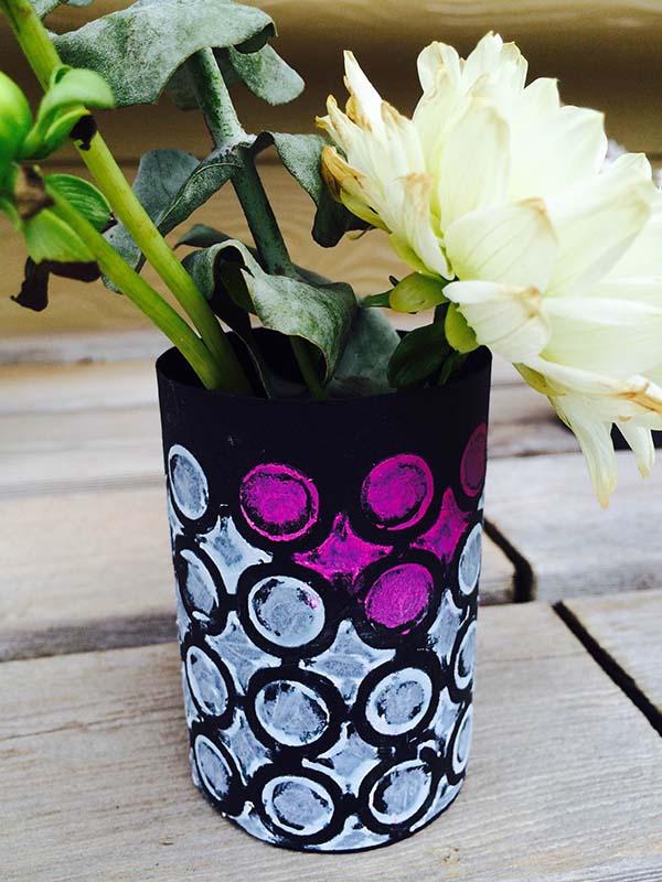 Graphic Bud Vases 2