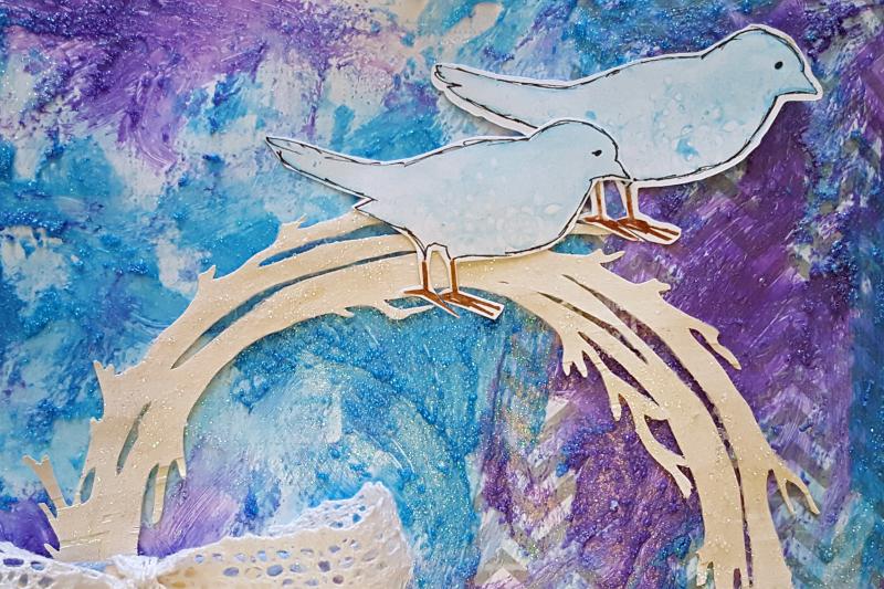Snow Birds - CloseUp