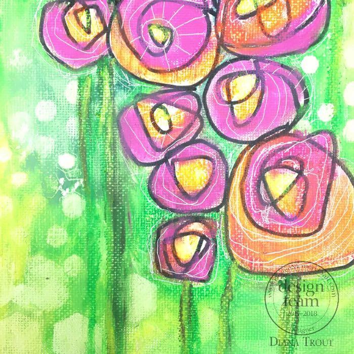 For Roses Detail Stems