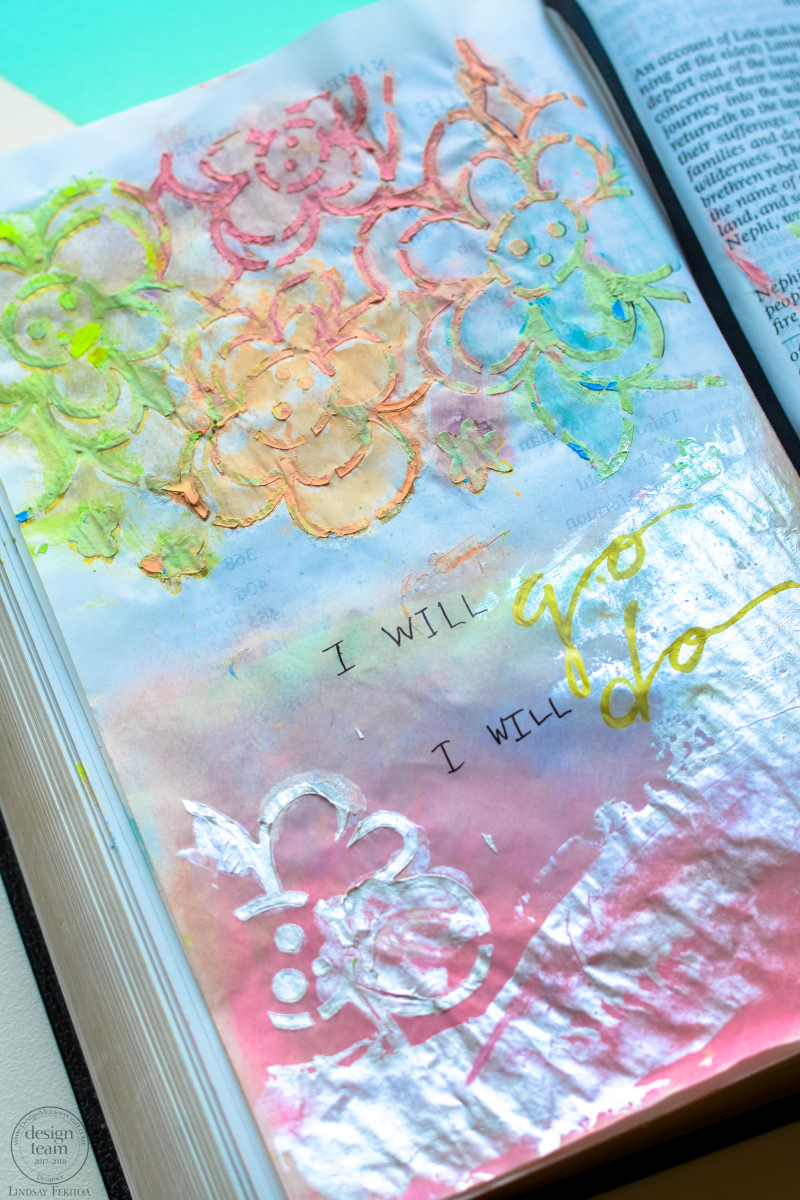 Bible Journaling with Faber Castell-1-4