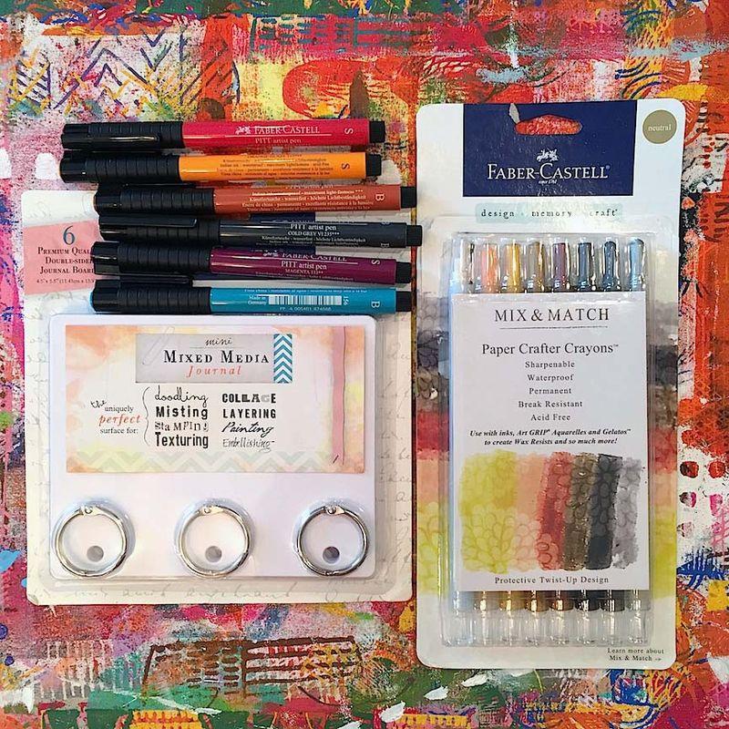 2 - Lynn K DIY coloring book supplies