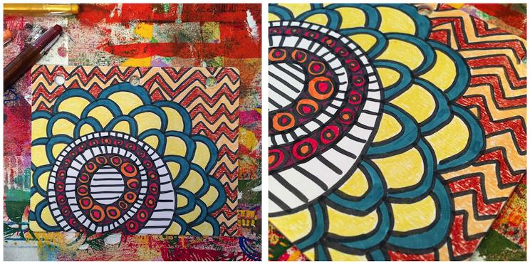 5 - Lynn K DIY coloring book crayons 2