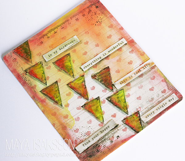 Faber castell design memory craft small artjournal maya