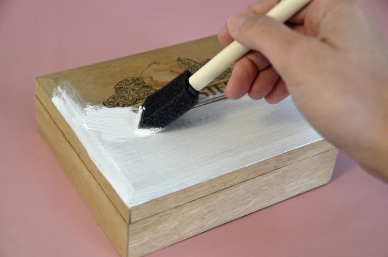 Cigar Box 1 -Gesso