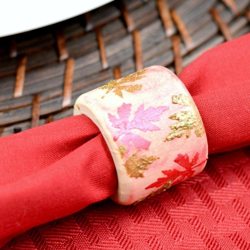 Autumn Napkin Rings - Iced Chai 3