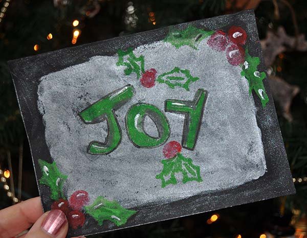 Joy Card Beauty Shot