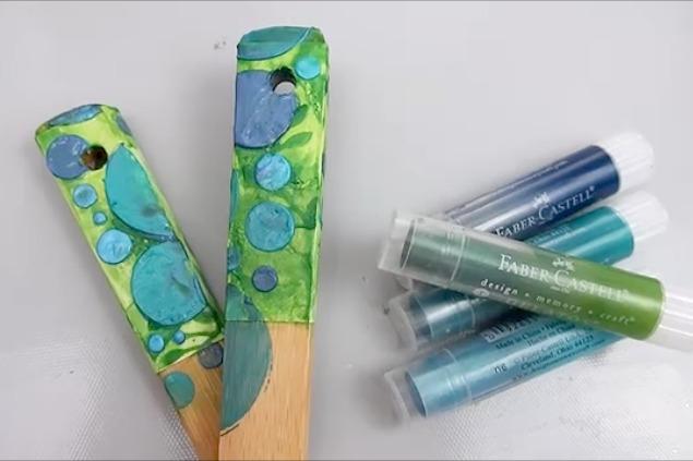 Painted Wood Spoons 3