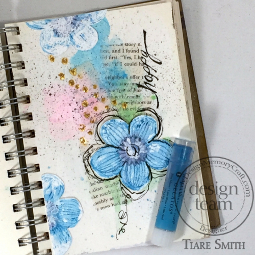 Happy Art Journal Page 1