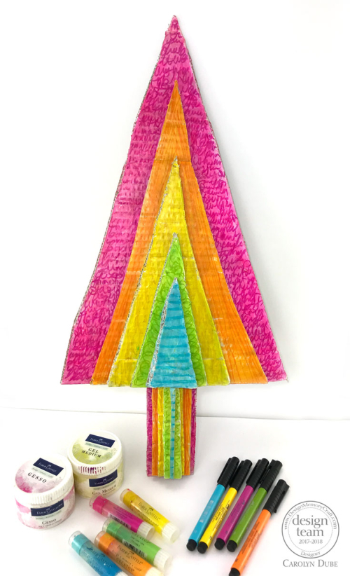 Gelatos-cardboard-christmas-tree-decor-carolyn-dube-4